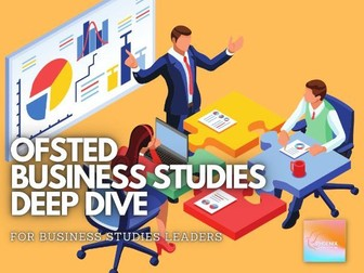 Ofsted Business Studies Deep Dive