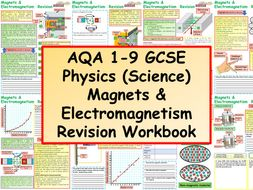 AQA 1-9 GCSE Physics (Science) Magnets & Electromagnetism Revision Workbook