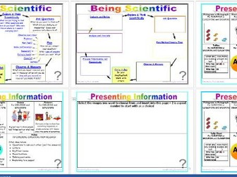 Being Scientific: Working Scientifically in Enquiry and Investigation COMPLETE Editable