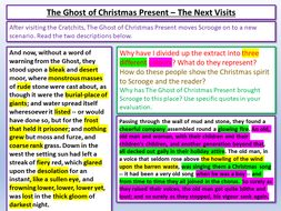 A Christmas Carol - Stave Three by Lead_Practitioner | Teaching Resources