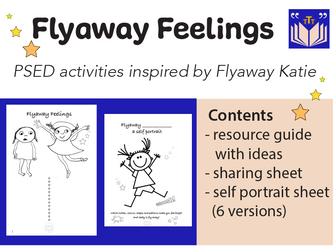 Flyaway Feelings, self portraits