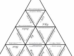 Physics Tarsia Puzzle: Forces and Energy