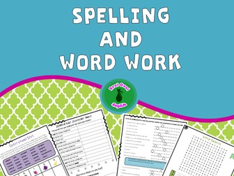 Spelling and Word Work