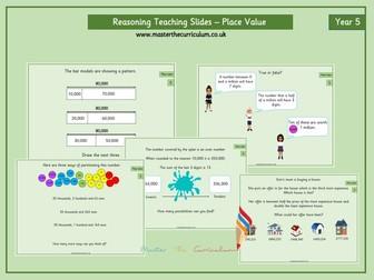 Year 5- Autumn Term- Block 1- Place Value Reasoning Slides