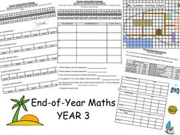 End-of-Year Maths Task - Summer Holiday Island