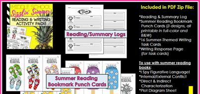 Middle-School-Reading-Writing-Summer-Activities.zip