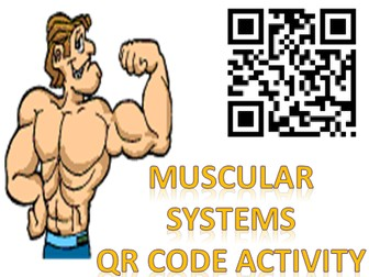 Body Systems: Muscular System QR code Activity