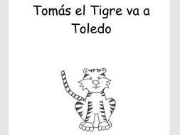 Reader for young learners of Spanish- Tomás el Tigre va a Toledo