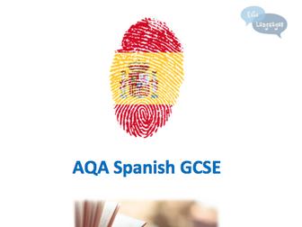 AQA Spanish Reading Workbook