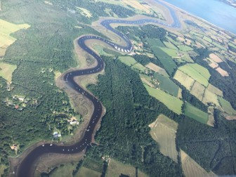 Coasts and Rivers: A Flight Over England