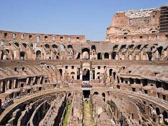 Art Pop Up Card - Romans Topic