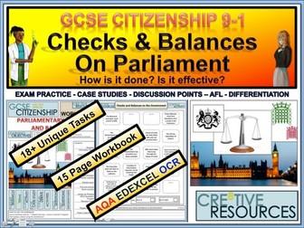 Parliament Checks and Balances