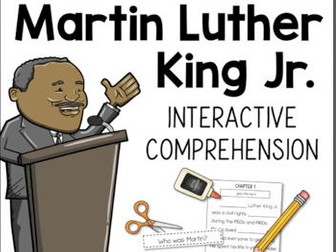 Martin Luther King Jr. Interactive Reading Activity