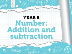 Year 5 - Addition and Subtraction - Bonus Pack