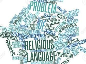 Religious Language (EdExcel A Level Religious Studies)