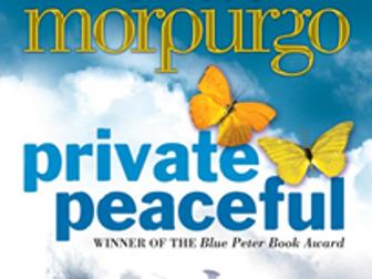 Private Peaceful - Reading Lesson - Lesson 9