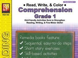 Read, Write & Color: Comprehension 1