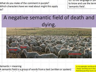 modeled examples of creative writing AQA GCSE by     Desire