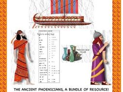 Phoenicians: A Bundle of Resource on these Ancient Sea Traders