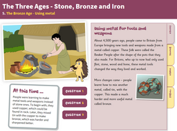 Using Metal - Interactive Teaching Book - The Bronze Age KS2