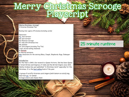 Merry Christmas Scrooge - Christmas Playscript
