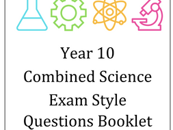 Year 10 content revision exam style q