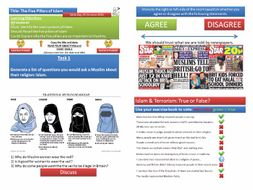 KS3 Islam - Complete Unit [9 Lessons]