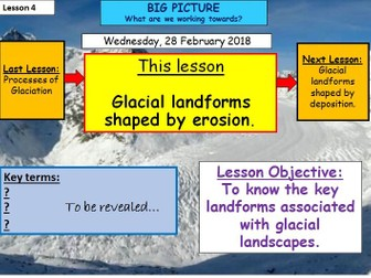 Glaciation - Lesson 4 - Glacial Landforms