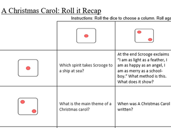 A christmas carol revision game by klawrex teaching resources tes ccuart Image collections