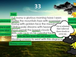Line by Line: Shakespeare's Sonnet 33