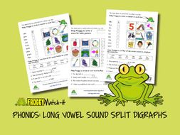 PHONICS: LONG VOWEL SOUND SPLIT DIGRAPHS