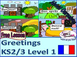 free primary french lesson ks2 3 greetings saying your name locating france england by. Black Bedroom Furniture Sets. Home Design Ideas