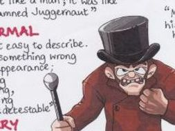 The Strange Case of DR JEKYLL & MR HYDE Quotes GCSE REVISION Poster MISTER HYDE Stephenson