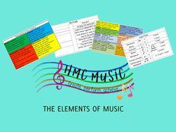LARGE PRINT ELEMENTS OF MUSIC LISTENING MAT