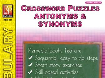 Antonyms & Synonyms: Crossword Puzzles