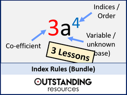 Index Rules (Indices) Bundle - 3 Lessons