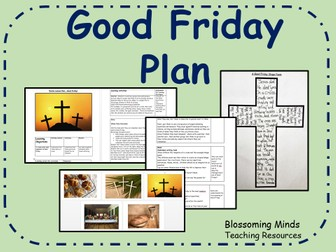 Good Friday Lesson Plan