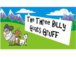 KS1 Talking for Writing: The Three Billy Goats Gruff - Four or Six Scheme of Work