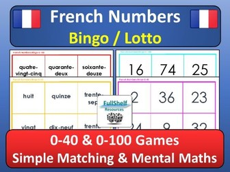 French Numbers Game