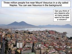 Why do people live near volcanoes? - KS2