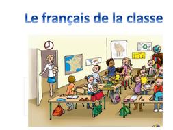 Les instructions de la classe_Classroom French