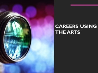Increase knowledge of careers in the Arts