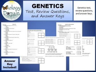 genetics exam 2 practice questions Human genetics: concepts and applications (lewis), 9th edition chapter 1: overview of genetics practice tests.