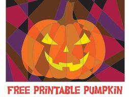 Free Halloween Pumpkin Coloring Activity Sheet