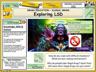 LSD - Drugs Education PSHE