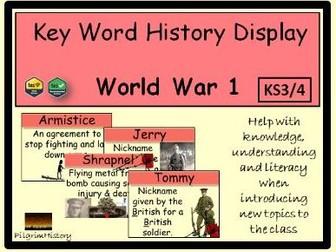 World War 1 Display