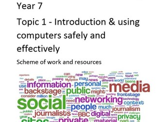 Year 7 Computing/ICT Scheme of work & Resources