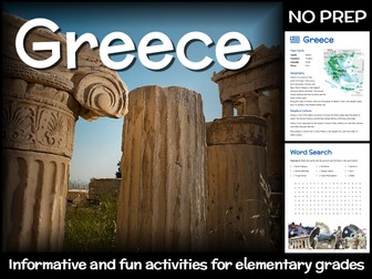Greece (country study for elementary grades)