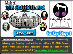 Classical Music Key Stage 3 Project