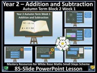 Addition and Subtraction - Year 2 - Autumn Term - PowerPoint Lesson